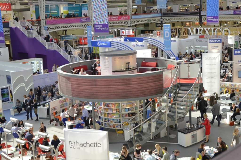 The London Book Fair 2015 at Olympia