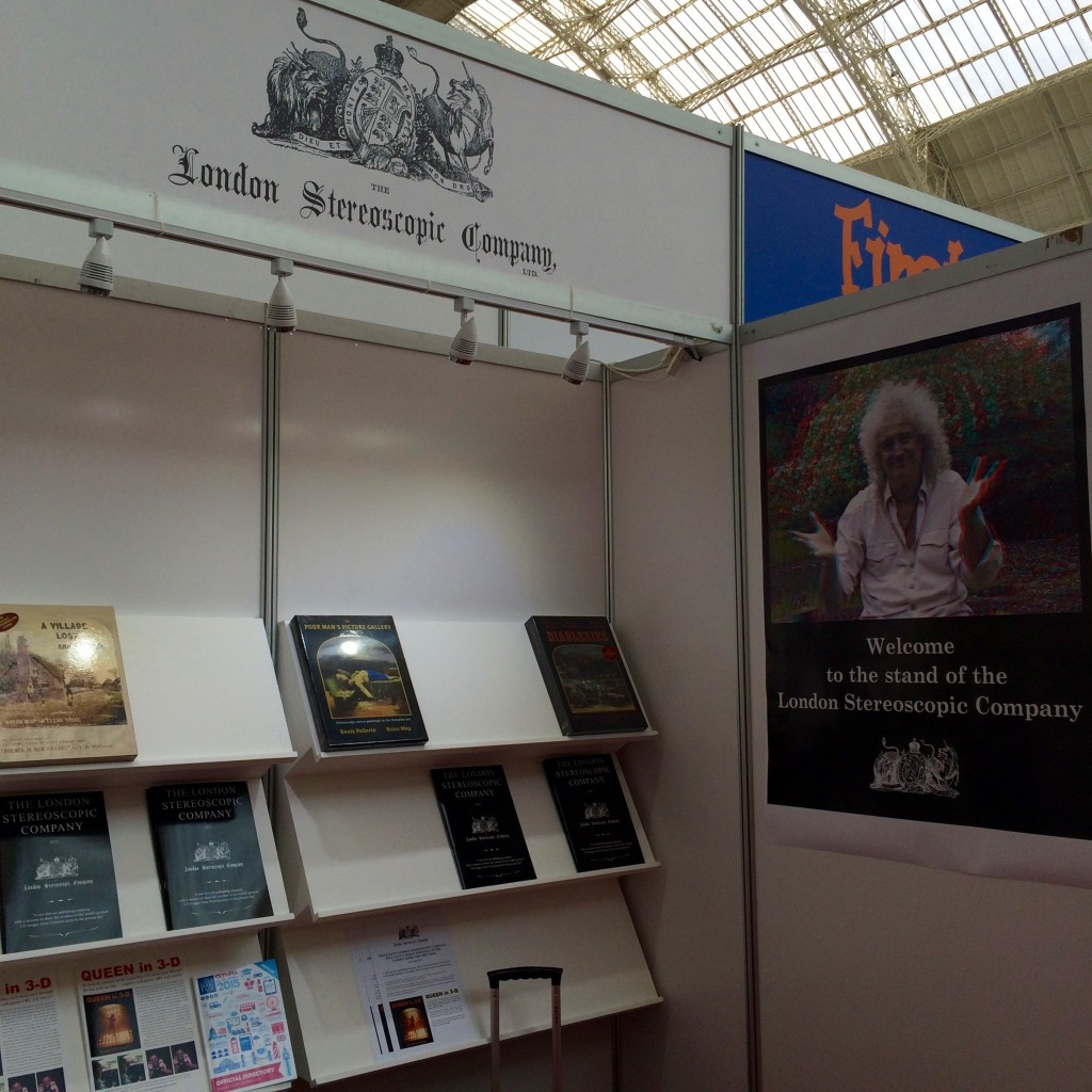 The London Stereoscopic Company stand at London Book Fair 2015